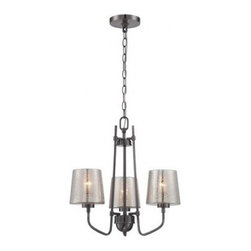 Varaluz | Meridian 3 Light Chandelier -