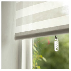 Shade pulls - Fun decorative hardware - Fun decorative shade pulls to go on the bottom of a spring roller shade: glass drops
