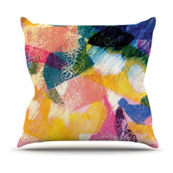 """Kess InHouse - Louise Machado """"Texture"""" Throw Pillow (Outdoor, 16"""" x 16"""") - Decorate your backyard, patio or even take it on a picnic with the Kess Inhouse outdoor throw pillow! Complete your backyard by adding unique artwork, patterns, illustrations and colors! Be the envy of your neighbors and friends with this long lasting outdoor artistic and innovative pillow. These pillows are printed on both sides for added pizzazz!"""