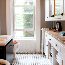 Eclectic Bathroom by Shelly Chung Design