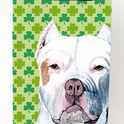 Caroline's Treasures - Pit Bull Shamrock Portrait Michelob Ultra Koozies for slim cans - Pit Bull St. Patrick's Day Shamrock Portrait Michelob Ultra Koozies for slim cans SC9301MUK Fits 12 oz. slim cans for Michelob Ultra, Starbucks Refreshers, Heineken Light, Bud Lite Lime 12 oz., Dry Soda, Coors, Resin, Vitaminwater Energy, and Perrier Cans. Great collapsible koozie. Great to keep track of your beverage and add a bit of flair to a gathering. These are in full color artwork and washable in the washing machine. Design will not come off.