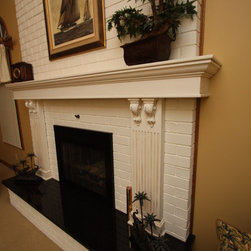 Granite Fireplace Hearth - Fireplace by Architectural Justice