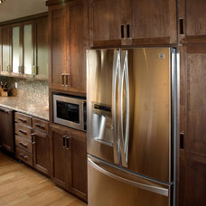 Traditional Kitchen Cabinetry by NORTH COUNTY KITCHENS