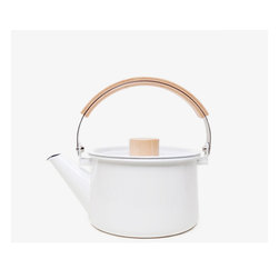 Kaico Japanese Enamel Kettle - This is the prettiest teapot I've ever seen. It's perfect for warming up water for my French press or morning tea. And I can guarantee that it would never see the inside of a cabinet!