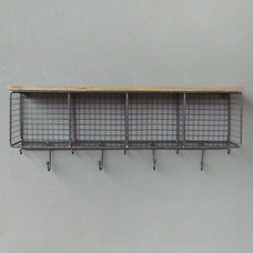 Eclectic Wall Shelves by red: modern lines . vintage finds