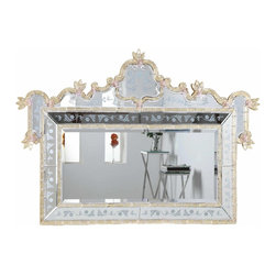 "PWG Lighting / Lighting By Pecaso - Zabrina Crystal Vanity Fixture MR-6299G - Mirror 58""x2.8""x39""H GD"
