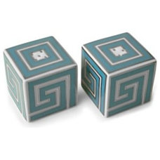 Contemporary Salt And Pepper Shakers And Mills by Style Shack