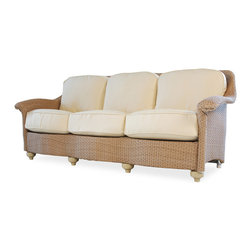 Lloyd Flanders Oxford Sofa - Available in 29 Custom Finishes. 32 H x 82.5 W x 35.5 D.