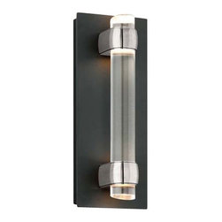 Troy Lighting - Utopia Outdoor LED Wall Sconce - Small, Aluminum - Utopia Outdoor LED Wall Sconce -Small