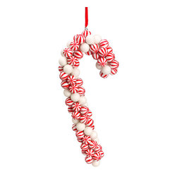 Silk Plants Direct - Silk Plants Direct Peppermint Candy Cane Ornament (Pack of 6) - Pack of 6. Silk Plants Direct specializes in manufacturing, design and supply of the most life-like, premium quality artificial plants, trees, flowers, arrangements, topiaries and containers for home, office and commercial use. Our Peppermint Candy Cane Ornament includes the following: