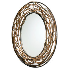 Rustic Mirrors by Lighting Front