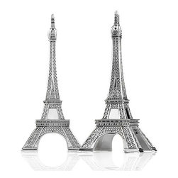Godinger Salt and Pepper Shakers, Eiffel Tower Set - My love of all things French means that I try to add a bit of Paris to whatever I'm doing. These salt and pepper shakers would make the perfect conversation pieces.