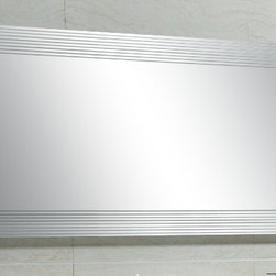 """Mirror with Integrated Lighting - Citrole, 49.2""""L -"""