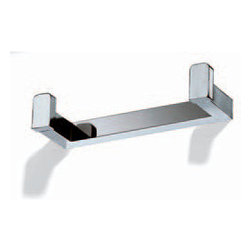 Modo Bath - Flash L213 Double Clothes Hanger in Chrome - Flash L213 Double Clothes Hanger in Chrome