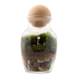 Twig Terrariums - Gentle Reminder Female - Gentle Reminder - She's a charmer, for sure and her daily reminder will be sure to please! Figures may vary, but we promise they're all adorable.
