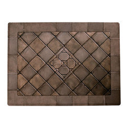 """Tropitone - Tropitone Stoneworks Palazzo Stone 39 x 27 Rectangular Solid Table Top 39W x 27D - While these visually stimulating tops for patio tables and dining tables look as though they are crafted using dozens individual tiles they are molded as one piece. A layer of patina is either brushed or rubbed on by hand to create the appearance of ceramic tile. Very striking yet they don't require the high-maintenance that ceramic tile surfaces need - making them ideal for patio tables outdoor dining tables -even as rugged indoor dining tables that can take all the abuse of outdoor dining tables!Tropitone Furniture Company has satisfied the product and service requirements of those that design and use the world's most enjoyable residential and commercial outdoor spaces since 1954. Today the Tropitone Furniture Company has broad and deep portfolios of residential products specifically designed for poolside garden patio and deck fireside balcony and sunroom. All are designed with the same standard of performance excellence. And the purchase and ownership experience of those who design and use residential outdoor spaces is guided by the same. Although inspired by the past Tropitones patio furniture designs are predominately modern and contemporary. Ornate traditional details often balance contemporary advances in comfort and style.  Designed for commercial use at the world's finest resorts hotels and other locations Tropitone furniture delivers performance comfort durability and style. With manufacturing facilities in both Florida and California Tropitone is able to provide high quality custom made furniture in one of the shortest """"order to ship"""" cycles in the industry.  Features include Simulation of the expensive and elegant stone Weather-resistant tough Featuring routed edge details Very durable and luxurious stone material Rectangular shape Features solid top design."""
