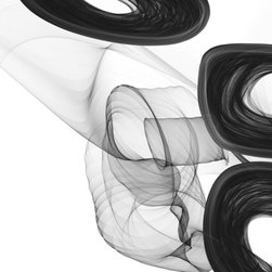 """Irena Orlov - 40 x 60"""", Abstract Black and White 18-45-39, Canvas Print by Irena Orlov - A perfect reproduction of the artist Irena Orlov original work, printed in brilliant color. This work is laid on gallery-wrapped canvas and arrives ready to hang."""