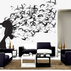 Amy Winehouse - Wall mural from PIXERS.