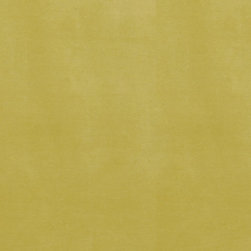 "Ballard Designs - Queens Velvet Chartreuse Fabric by the Yard - Content: 82% polyester and 18% cotton. Repeat: Non-railroaded fabric. Care: Dry clean. Width: 54 29/40"" wide. Solid chartreuse woven in easy-care, suede-like poly-cotton blend. Imported.  .  .  .  . Because fabrics are available in whole-yard increments only, please round your yardage up to the next whole number if your project calls for fractions of a yard. To order fabric for Ballard Customer's-Own-Material (COM) items, please refer to the order instructions provided for each product.Ballard offers free fabric swatches: $5.95 Shipping and Processing, ten swatch maximum. Sorry, cut fabric is non-returnable."