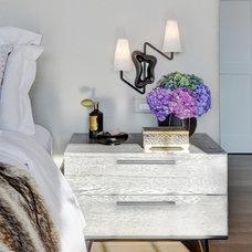Transitional Bedroom by Tamara Magel Studio