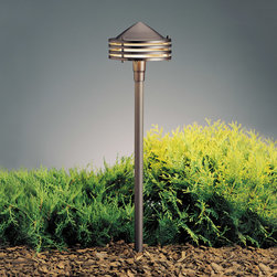 Kichler Lighting - Kichler Lighting 15318AZT Landscape 12v 1 Light Pathway Lighting in Textured Arc - This 1 light Landscape Path Light from the Landscape 12V collection by Kichler will enhance your home with a perfect mix of form and function. The features include a Textured Architectural Bronze finish applied by experts. This item qualifies for free shipping!