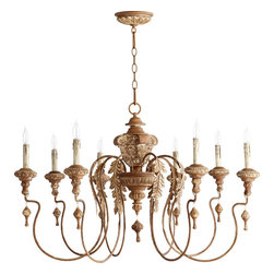 Quorum International - Quorum 6006-8-94 Salento 8Lt Chandelier - Fru - Quorum 6006-8-94 Salento 8LT Chandelier - Fru