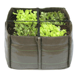 Bacsquare 4 Flexible Portable Container Garden - If you have a 2-foot-by-2-foot space, this petite garden container is perfect for herbs, or even a small vegetable garden. Slip it into the corner of the kitchen or outside on your deck or patio.
