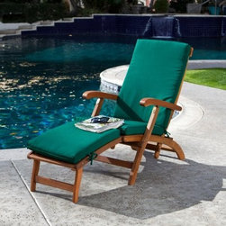 Dorado Steamer Deck Lounge Chair - Definitely not a myth, the Dorado Steamer Deck Lounge Chair will have you daydreaming in peaceful relaxation this season. This high-quality lounger is crafted in a smooth slatted design with shapely armrests and a curved back, all covered in a warm brown finish. Add one to your outdoor setting and lean back into the relaxing recline position, which is sturdily supported by extended back legs. Then stretch your legs out on the elevated footrest, or fold it under for a soothing angle that follows the natural bend of your legs. Ah ... summertime.Soundly constructed with FSC certified acacia hardwood - well-known for its natural resistance to decay, mold, mildew, and insects - the Dorado Steamer Deck Lounge Chair will withstand the harshest elements and stay looking like new season after season. Knowing that the wood is harvested in an environmentally friendly way from protected forests will make you feel ever better about owning this classic outdoor chaise lounge.This Product is Certified by the Forest Stewardship CouncilThe wood used in this patio furniture is FSC certified, an environmentally-friendly method of forestry. Many forests around the world are still damaged and destroyed by irresponsible logging. Logging can contribute to habitat destruction, water pollution, displacement of indigenous peoples, and violence against those who work the forest as well as the wildlife that dwells there. Many consumers and manufacturers believe that the negative impacts brought on by logging can be stopped, and forests can be all at once managed and protected. Forest Stewardship Council certification is one way to improve the practice of forestry. The Forest Stewardship Council, or FSC, is a non-profit organization devoted to encouraging the responsible management of the world's forests. The council sets high standards that ensure forestry is practiced in an environmentally responsible, socially beneficial, and economically viable way.About Dropship Vendor GroupIn operation since 1995, Dropship Vendor Group has been filling the need for outdoor living products. Based in Ho Chi Minh City, Dropship Vendor Group has established a reputation for manufacturing fine outdoor living products at the right price, while offering excellent quality, style, and innovation to today's demanding retail environment. Companies around the world trust Dropship Vendor Group's capabilities and manufacturing expertise to improve their ability to market and sell high-quality products. Dropship Vendor Group is a leading manufacturer for some of the world's most prestigious retailers and distributors in the U.S., Canada, Europe, Australia, South America, and Middle East.