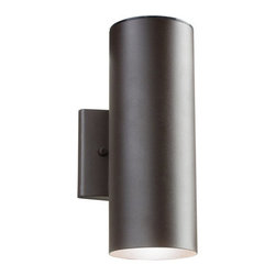 "Kichler - Kichler 11251AZT 12"" Energy Efficient LED Outdoor Wall Light - Kichler 11251 Modern LED Outdoor Light"