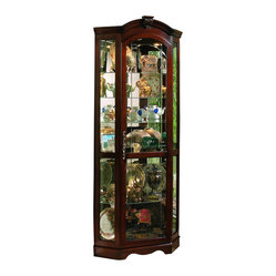 Pulaski Furniture - Corner Curio by Pulaski Furniture ...