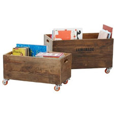 Traditional Storage Bins And Boxes by Serena & Lily