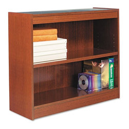 Alera - Alera BCS23036MC Square Corner Wood Veneer Bookcase - Medium Cherry Multicolor - - Shop for Bookcases from Hayneedle.com! About AleraWith the goal of meeting the needs of all offices -- big or small casual or serious -- Alera offers an excellent line of furnishings that you'll love to see Monday through Friday. Alera is committed to quality innovative design precision styling and premium ergonomics ensuring consistent satisfaction.