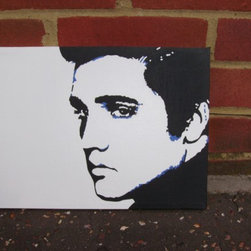 Elvis Presley by Micheal Gregory -