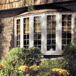 Bay Windows - An elegant, gently arched bow window can make your home feel bigger and brighter.