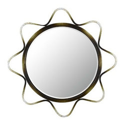 CAL Lighting - Cal Lighting Lorca Metal Mirror with Beveled Glass - Lorca Metal Beveled Mirror