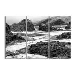 Ready2HangArt - Ready2hangart Bruce Bain 'Rock Cove' Canvas Wall Art - This beautiful canvas wall art is from photographer Bruce Bain. His work employs elements of imagination to capture a variety of subjects. It is fully finished, arriving ready to hang on the wall of your choice.