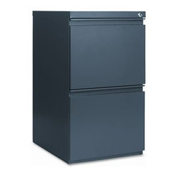 Alera Mobile 2 Drawer Pedestal File with Casters and Full ...