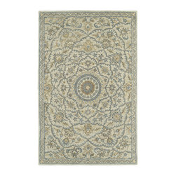 Kaleen - Kaleen Solomon Collection 4055-01 8' X 10' Ivory - Painstaking attention to detail and old world craftsmanship is the definition of Solomon.  These beautiful hand tufted rugs are produced from only the finest 100% premium virgin wool and are available in a selection of timeless designs. The collection offers an array of sophisticated colorations to meet all your decorating needs. Hand crafted in India.