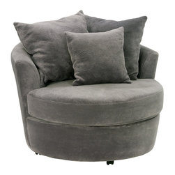 Chapparral Cuddler Swivel Chair -