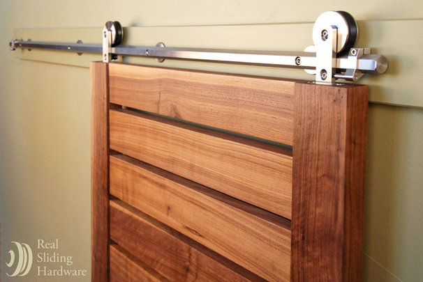 Contemporary Home Improvement by Real Sliding Hardware