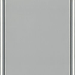 Dura Supreme Cabinetry Zinc Paint Finish - Dura Supreme Cabinetry color chip/ swatch in the Zinc paint finish. Part of Dura Supreme's Gray Paint Collection.