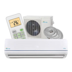 Senville - Ductless Mini Split Air Conditioner & Heat Pump - 24000BTU By Senville Aura - This 24000BTU Aura Mini Split Air Conditioner by Senville is one of the latest high-end split unit on the market. Providing you with a various of features including, SEER 19, 23000BTU Cooling, 2400BTU Heat Pump, Turbo Mode, Ionizing Air Filter, Dehumidification, Follow Me Function, Timer Function and much more.