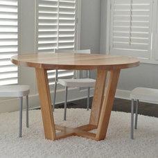 Modern Dining Tables by Belak Woodworking LLC