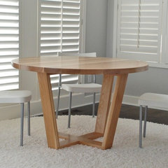 contemporary dining tables by Belak Woodworking LLC