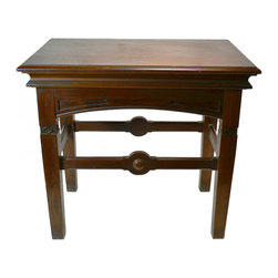 Lavish Shoestring - Consigned Gothic Revival Library Desk in Two Tones, Antique English Victorian, 1 - This is a vintage one-of-a-kind item.