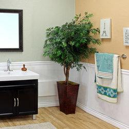 Bellaterrra - Bellaterra 203131 31.5 In Single Sink Vanity-Wood-Black - 31.5x18.3x34.3 in. - Bellaterra 203131 31.5 In Single Sink Vanity-Wood-Black  - 31.5x18.3x34.3 in.