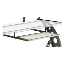 Pitstop Furniture - Pitstop Clear GT Spoiler Desk Pull Out Tray - Pitstop Clear GT Spoiler Desk Pull Out Tray