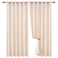 Contemporary Curtains by Bed Linens and More
