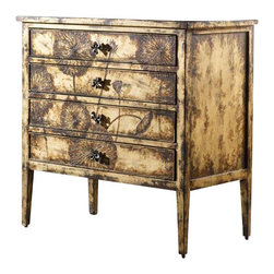 Hooker Furniture - Hooker Furniture Melange Cache Chest in Matte Gold - Hooker Furniture - Chests - 63885029 - Come closer to Melange and you will discover something unexpected an eclectic blending of colors textures and materials in a vibrant collection of one-of-a-kind artistic pieces.