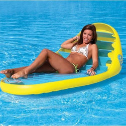 Banana Beach Lounge Float in Pool - -Cute and unique design!